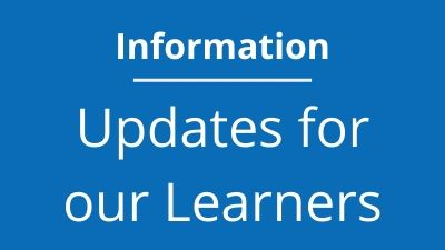 Updates for our Learners