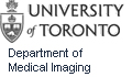 Image of University of Toronto Medical Imaging logo