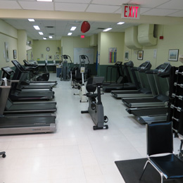 Picture of GoodLife gym equipment