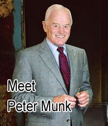 About Peter Munk