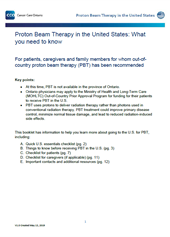 Proton Therapy FAQ for Patients and Families (CCO)