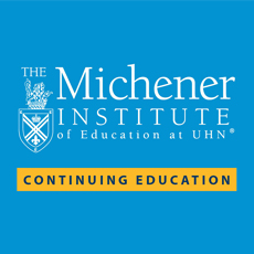 Continuing Education at Michener Institute Logo
