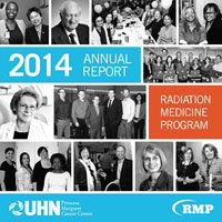 2014 Report cover with collage of photos