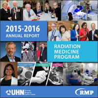 2015 Report cover with collage of photos