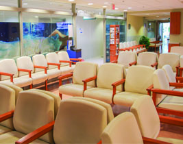 Image of M. Lau Breast Centre Reception Area
