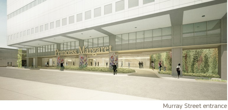 Artist rendering of Murray Street Entrance