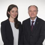 Dr. Gelareh Zadeh and Dr. Donald Weaver.