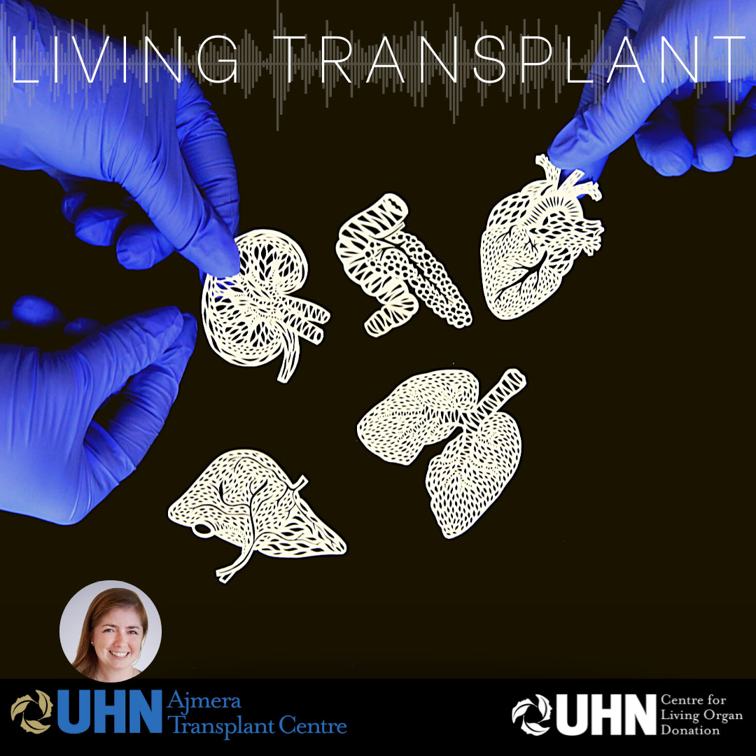 Living Transplant podcast cover