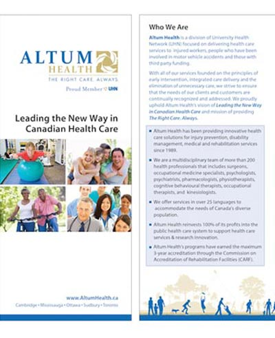 Altum Health Corporate Brochure