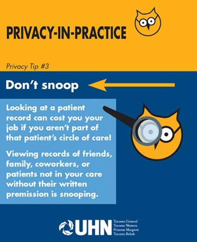 Privacy Tip Flyer