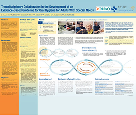 Poster on Transdisciplinary Collaboration