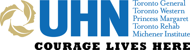 UHN Courage lives here Logo