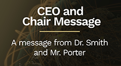 A Message from Dr. Smith and Mr. Brian Porter