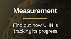 measurement- How UHN is tracking its progress