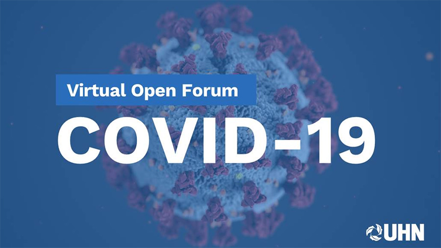 COVID-19 Virtual Open Forum