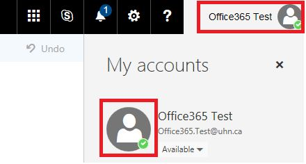 Uploading O365 Profile Picture