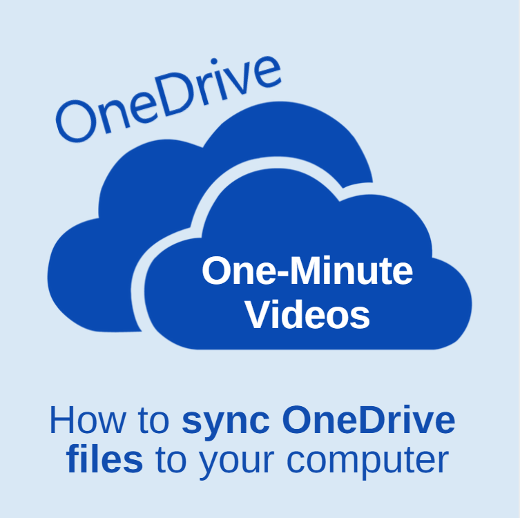 syncing onedriving files