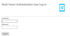 set up a secondary form of authentication