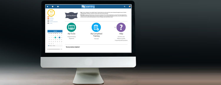 myLearning banner