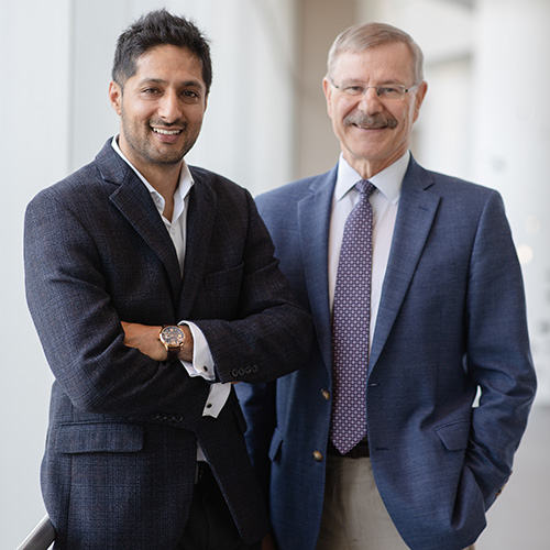 Drs. Mohit Kapoor and Robert Inman