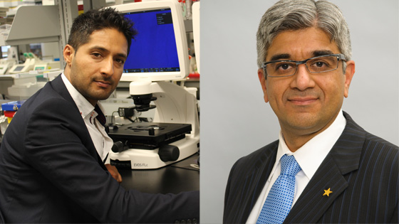 Image of Drs. Mohit Kapoor and Nizar Mahomed