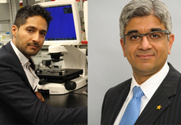 Drs. Mohit Kapoor and Nizar Mahomed