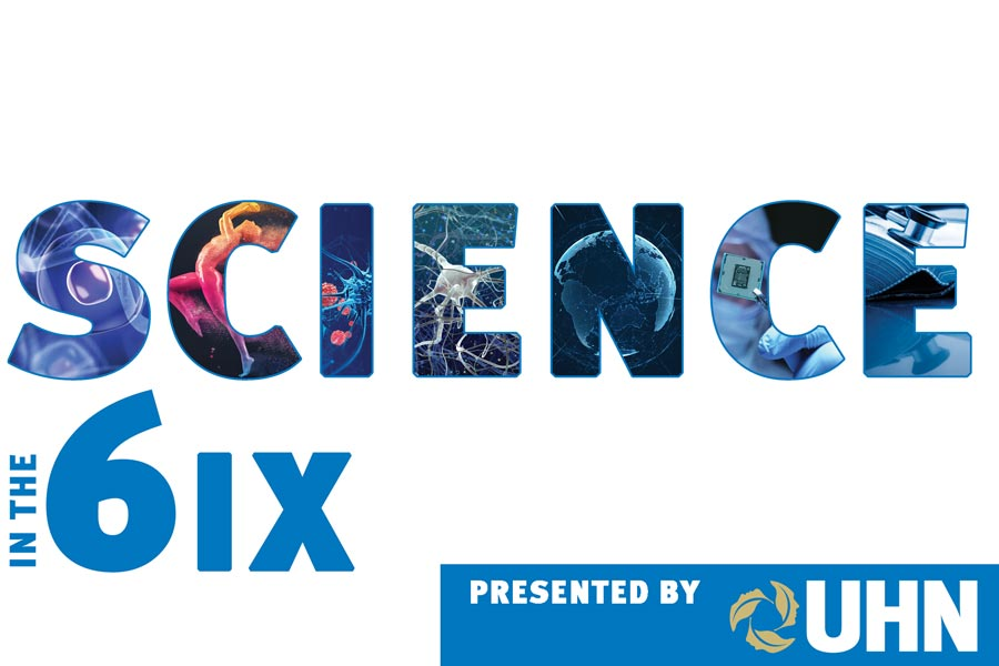 Science in the 6ix logo