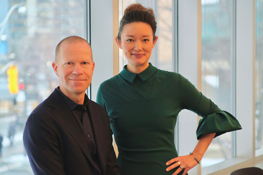 Brian Hodges and Catherine Wang