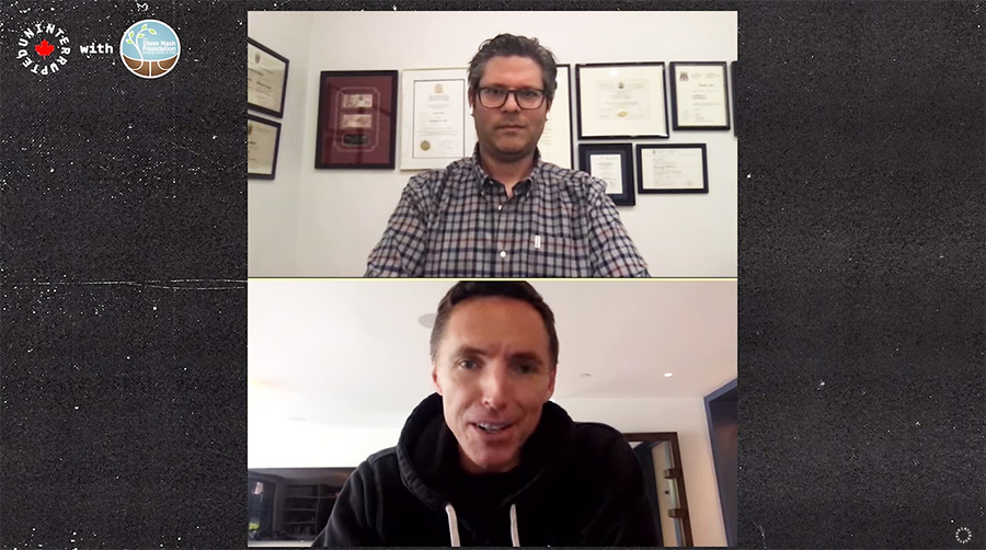Dr. David Carr holds Zoom Q and A with NBA Hall of Famer Steve Nash
