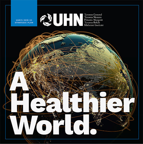 UHN Strategic Plan – Cover