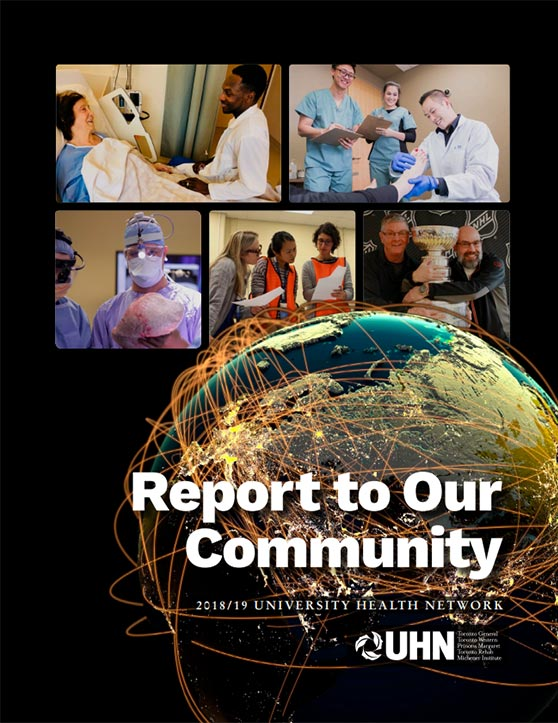 Report to Our Community cover 2019