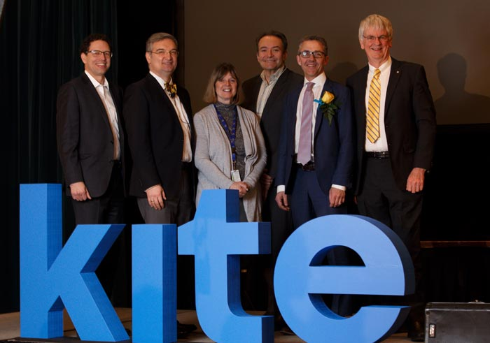 UHN execs at KITE launch