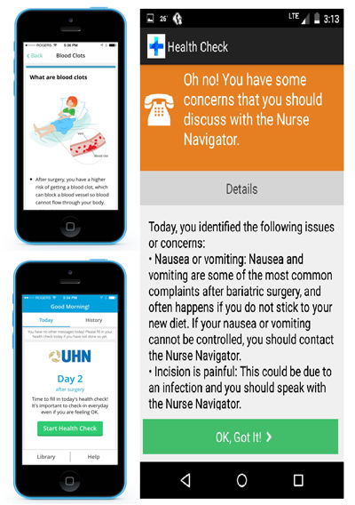 Image of Bariatric App collage