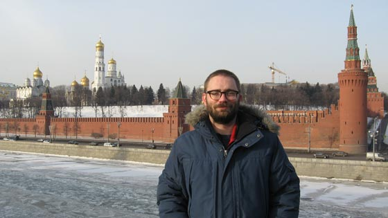 Ben McVicker in Moscow