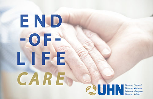 Photo of holding hands - End of Life Care - Banner