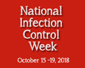 national infection control week logo