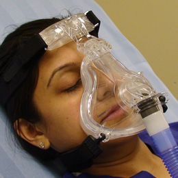 Picture of BiPAP/ Girl Oxygen Mask